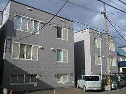ぺブル平岸壱番館[3階]の外観