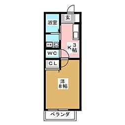 CPスクエア[1階]の間取り
