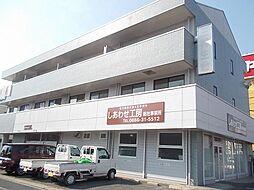 岡山県総社市駅前の賃貸アパートの外観