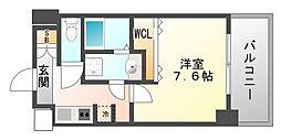 兵庫県尼崎市昭和通5丁目の賃貸マンションの間取り
