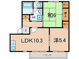 プリマベーラ21[105号室]の間取り