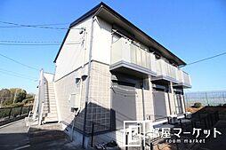 愛知県豊田市井上町12丁目の賃貸アパートの外観