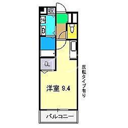 クレメント・ヒル[1階]の間取り