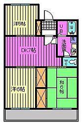 第7池田マンション[101号室]の間取り