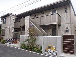 岡山県岡山市北区天瀬の賃貸アパートの外観