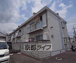 京都府京都市右京区梅津中村町の賃貸アパートの外観