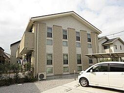 埼玉県上尾市大字今泉の賃貸アパートの外観