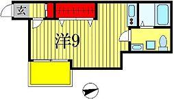 siro松戸[2階]の間取り