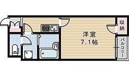 グレースヴィラ昭和町[201号室]の間取り