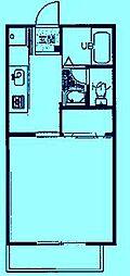 オセアン馬絹[2階]の間取り