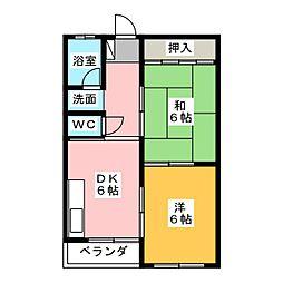 小松ビル[3階]の間取り