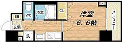 プレサンス本町プライム[13階]の間取り