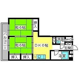 雑餉隈駅 5.5万円