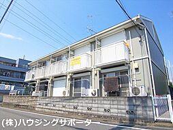 東京都八王子市北野町の賃貸アパートの外観