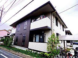 ハーモニーコーポA・B[1階]の外観