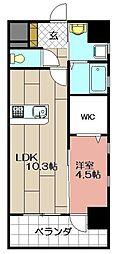 MDIグランデラブロ香春口[2階]の間取り
