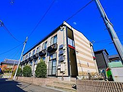 奈良県奈良市法蓮町の賃貸アパートの外観