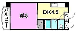 R5マンション[207 号室号室]の間取り