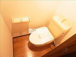 グリーンワイズのシャワー付きのトイレ