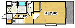 サザンクロスII[2階]の間取り
