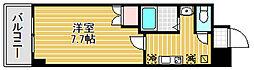 マードレ西宮[4階]の間取り