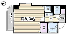 田端ニューシティ21[402号室]の間取り