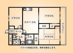和光銀山レジデンス--[203号室]の間取り