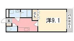 サンクチュアリー[2階]の間取り