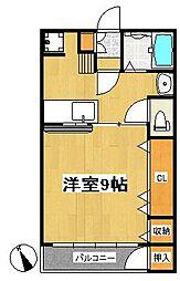 第一伊藤ビル[4階]の間取り