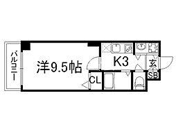 京都ステーションコート[9階]の間取り