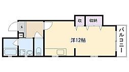 ソシヤ甲子園[101号室]の間取り