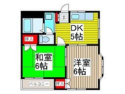 デュエット塚越[3階]の間取り