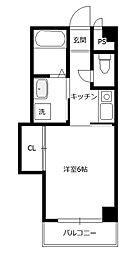 日新ビル[3階]の間取り