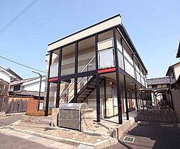 京都府京田辺市薪天神堂の賃貸アパートの外観