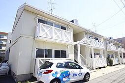 広島県広島市南区西旭町の賃貸アパートの外観