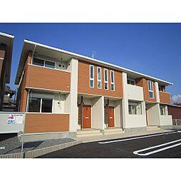 茨城県石岡市府中5丁目の賃貸アパートの外観