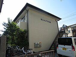 東京都江戸川区大杉4丁目の賃貸アパートの外観