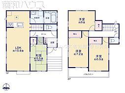 名古屋市天白区梅が丘4丁目 C号棟 新築一戸建て