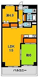 栃木県宇都宮市若松原1の賃貸マンションの外観