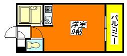 H2O・高井田ビル 502号室[5階]の間取り