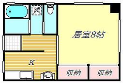 巽コーポ[2階]の間取り