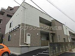 広島電鉄宮島線 草津駅 徒歩5分の賃貸アパート