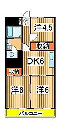 第2千代田マンション[212号室]の間取り