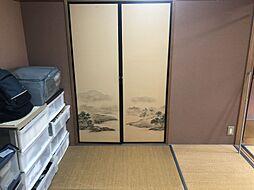 落ち着く和室です。 寝室など畳のお部屋は落ち着きますね。