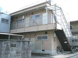 大阪府泉南郡熊取町朝代東1丁目の賃貸アパートの外観
