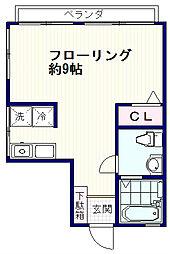 富士ビューマンション[2階]の間取り