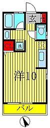 オッフェルタYK[102号室]の間取り