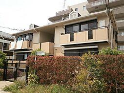 東京都調布市菊野台3の賃貸アパートの外観