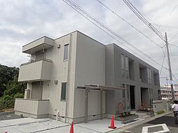 兵庫県三木市志染町西自由が丘の賃貸マンションの外観