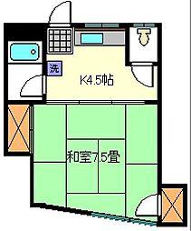 三和ビル[3階]の間取り